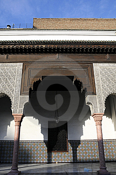 Architektur Mit Arabischer Art Stockbild - Bild: 8523601