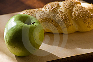 Bread And Apple4 Stock Image - Image: 8523851