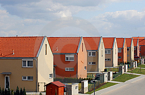 Typical Houses Stock Photos - Image: 8524323