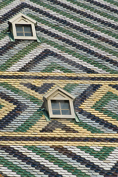 Abstract Roof Stock Image - Image: 8524701