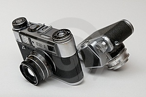 Photocameras Stock Photography - Image: 8525022