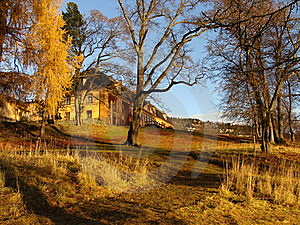 An Old House Royalty Free Stock Photography - Image: 8525187