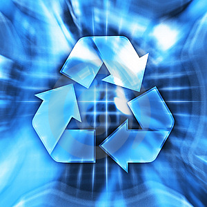 Recycling Symbol Royalty Free Stock Images - Image: 8525499