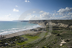 Kourion Cliffs Stock Images - Image: 8526324