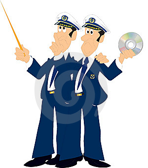 2 Captains Stock Image - Image: 8526581