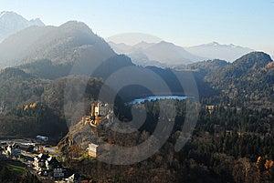 Hohenschwangau Castle Royalty Free Stock Photo - Image: 8526745