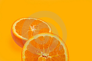 Slices Of  Juicy Orange. Stock Photos - Image: 8527033