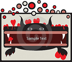 Beastly Love Banner Stock Images - Image: 8527814