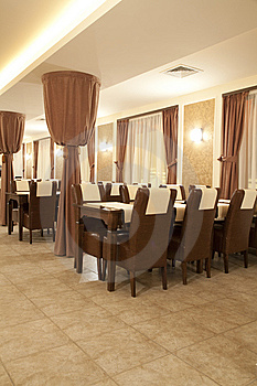 Restaurant Interior Royalty Free Stock Photos - Image: 8528598