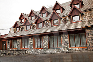 Rustic Hotel Stock Photo - Image: 8528760