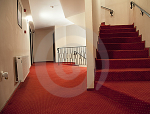 Hotel Stairs Stock Image - Image: 8528941