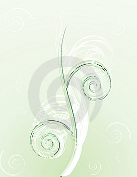 Green Spiral Background Stock Photography - Image: 8529042