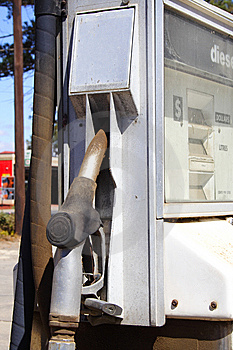 Petrol Pump Royalty Free Stock Photo - Image: 8529125