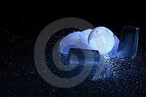 Frozen Planet Royalty Free Stock Image - Image: 8530356