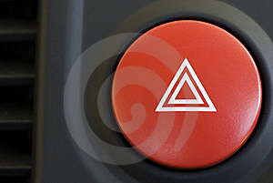 Warning triangle Royalty Free Stock Photos