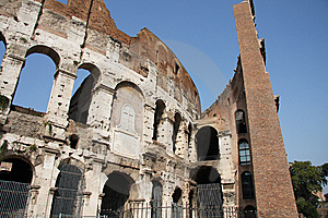 Colosseum In Rome, Italy Royalty Free Stock Images - Image: 8530479