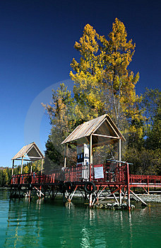 Boat Gas Station Stock Photos - Image: 8531053