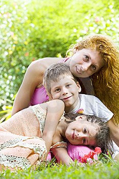 Summer Family Stock Photography - Image: 8531132