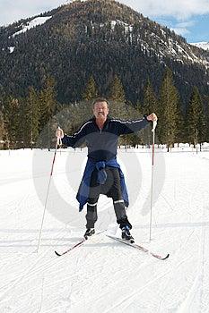 Active Senior Man Royalty Free Stock Photography - Image: 8531377