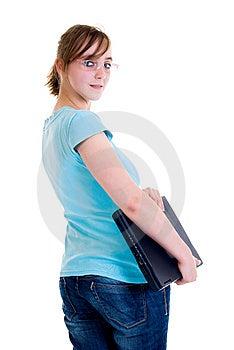 Teenager Schoolgirl Stock Images - Image: 8532264