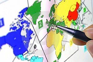 World Map Stock Image - Image: 8532451