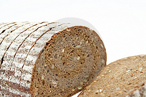 Sliced Loaf Of Cereal Bread Royalty Free Stock Image - Image: 8532626