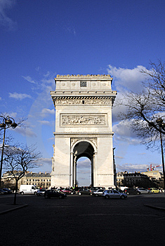 Arch Building In Paris Stock Photography - Image: 8532712