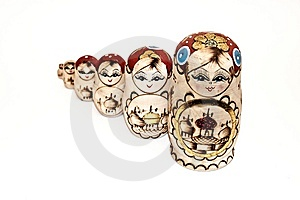 Russian Dolls Stock Photography - Image: 8532732