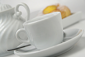 Coffee And Brioche 2 Royalty Free Stock Photo - Image: 8532955