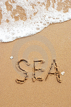 Sand And Sea Stock Photography - Image: 8533242