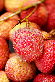 Litchi Chinensis Royalty Free Stock Image - Image: 8533596