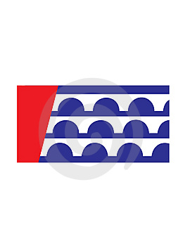 Des Moines City Flag Royalty Free Stock Images - Image: 8533599