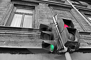 Traffic Light. Stock Photo - Image: 8533770