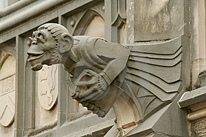 Gargoyle Royalty Free Stock Photos - Image: 8534988