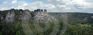 Panorama -Saxony Swiss Stock Photography - Image: 8535162