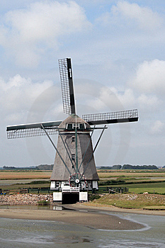 Windmill Royalty Free Stock Image - Image: 8535246