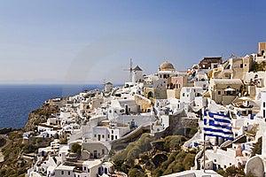 Oia, Santorini, Greece Royalty Free Stock Image - Image: 8535296