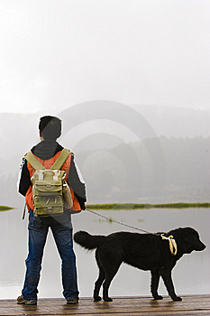 Man And Dog Stock Photo - Image: 8535420