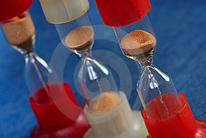 Three Hourglass Royalty Free Stock Photos - Image: 8535728
