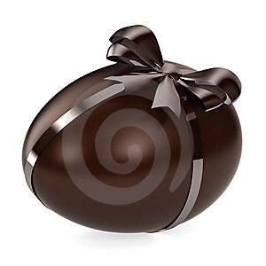 Chocolate Egg Stock Photo - Image: 8535970
