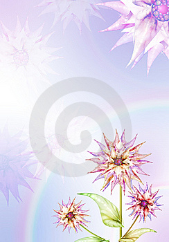 Lilac Floral Background Stock Photos - Image: 8535983