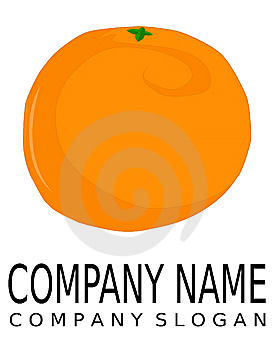 Orange - Logo Stock Photo - Image: 8536030