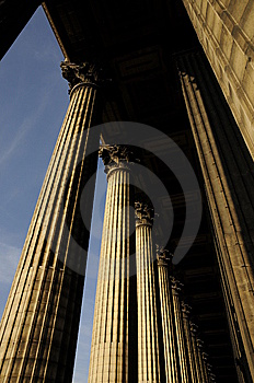 Great Building With Pillar Stock Images - Image: 8536264