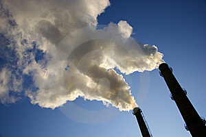 Smoke From A Pipe. Stock Images - Image: 8536364