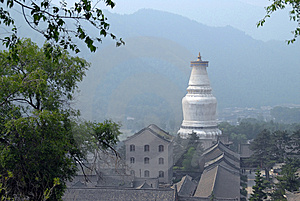 The Stupa Of China Royalty Free Stock Image - Image: 8536666