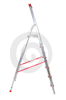 Stepladder Royalty Free Stock Photo - Image: 8536695