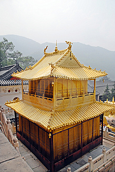 The Gold House In China Stock Photos - Image: 8536763