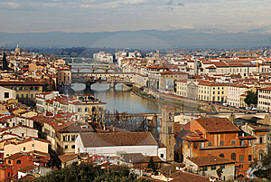 Panorama Of Florence, Italy Royalty Free Stock Photography - Image: 8537087