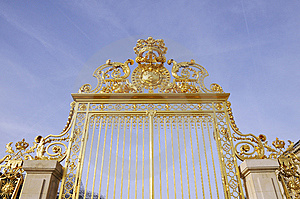 The Door With Golden Royalty Free Stock Images - Image: 8537259
