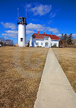 Chatham Lighthouse, Cape Cod Royalty Free Stock Photos - Image: 8537448